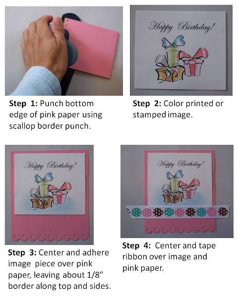 mothers day card instructions