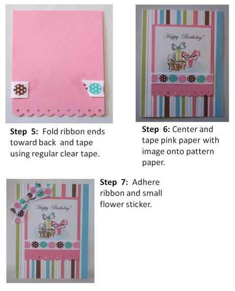 mothers day card directions