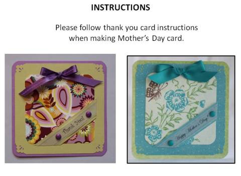 make mothers day cards instructions