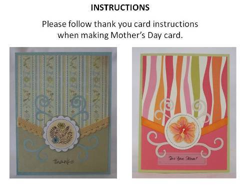 make a mothers day card instructions