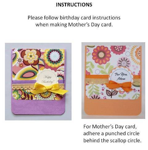 mother day card homemade instructions