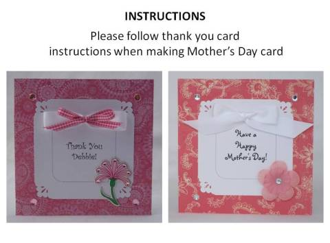 how to make a happy mothers day card