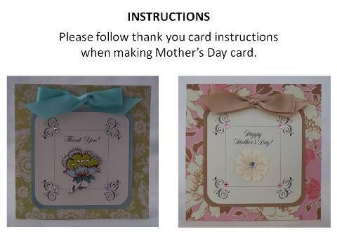 mothers day cards instructions