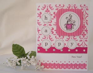 handmade greeting cards happy new year idea