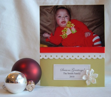 christmas photo card idea