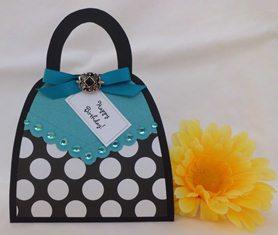 card idea handmade purse