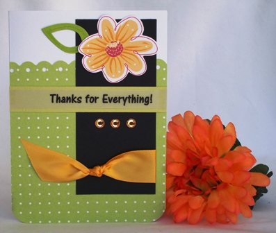 thank you card ideas pretty flowers