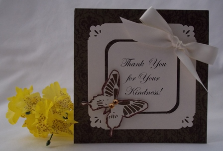 MAKE THANK YOU CARDS AND OTHER EXAMPLES OF HANDMADE CARDS
