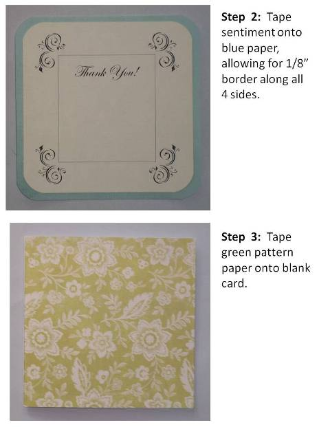 how to make handmade thank you cards
