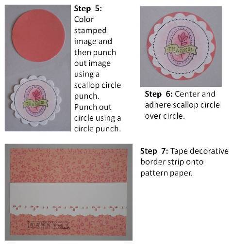 make a easter card directions