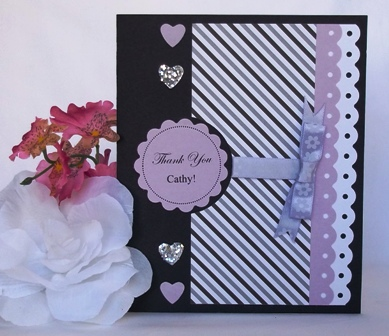 Make handmade cards and examples of pretty handmade cards for Christmas card ideas to make at home