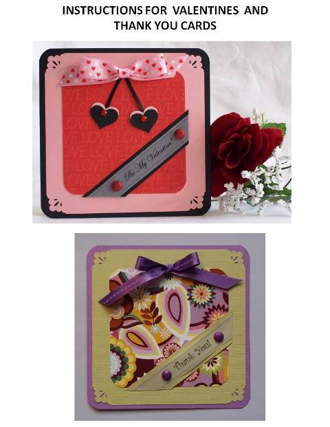 valentine craft idea instructions