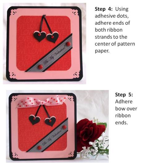 valentine craft idea instructions
