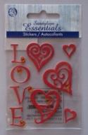 handmade valentine card