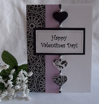 valentine card ideas with heart punch