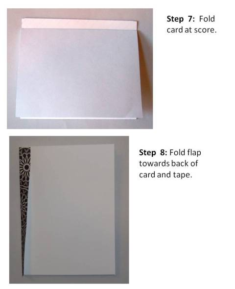 handmade valentine cards instructions step 6