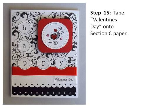 handmade valentines day card instructions