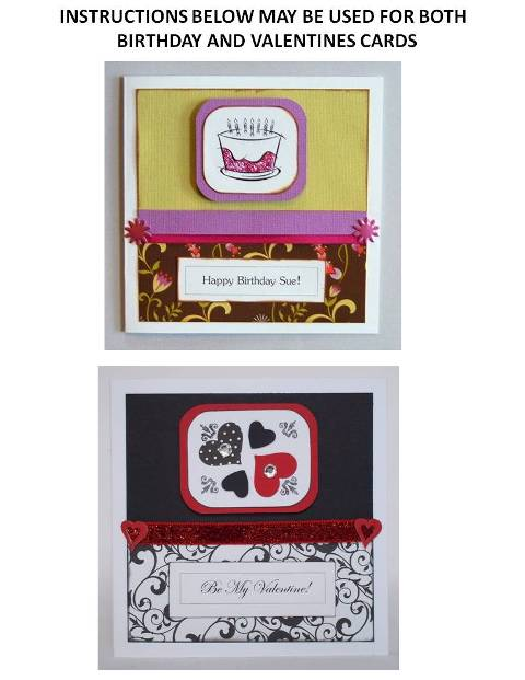 homemade valentine card ideas instructions