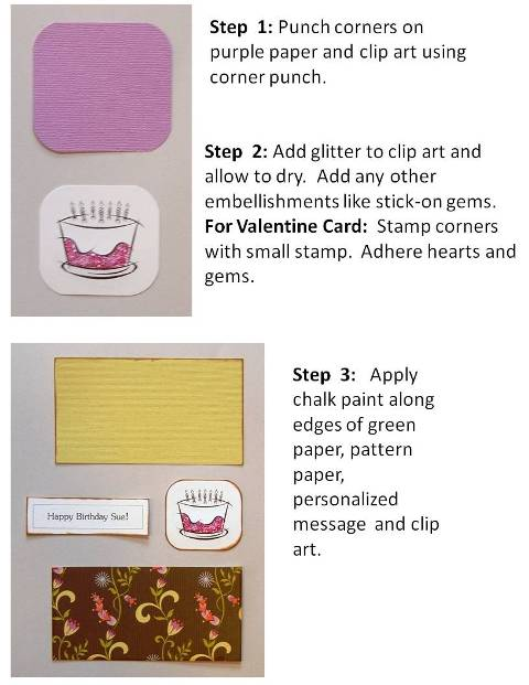 homemade valentine card ideas step by step