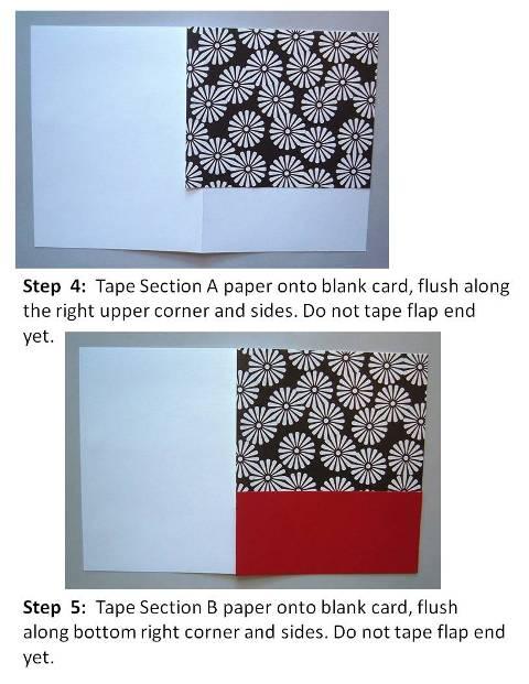 Homemade Birthday Card Ideas instructions step 3