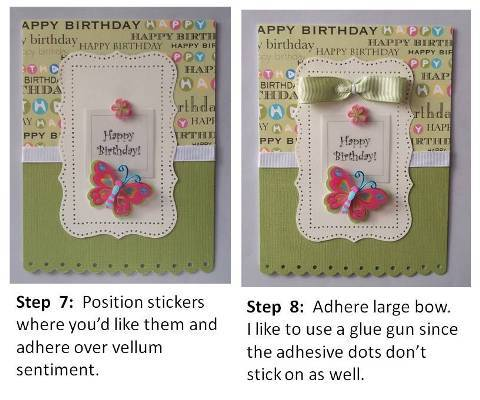 how to make a handmade birthday card