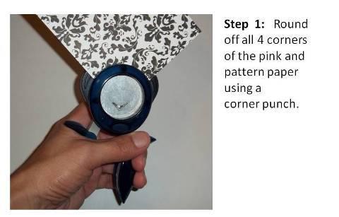 birthday card ideas instructions step 2