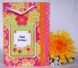 making birthday cards