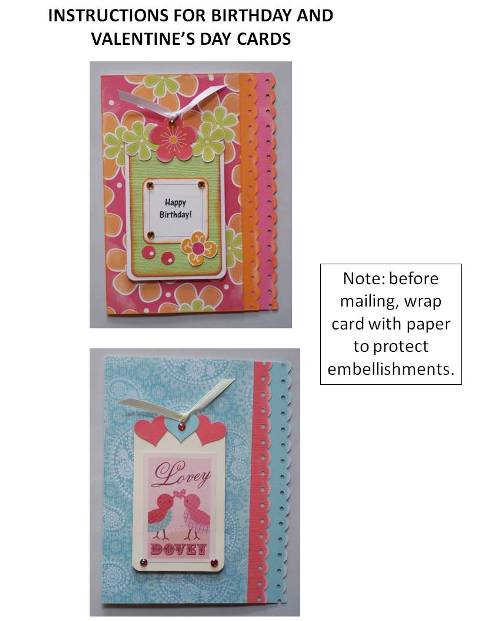 homemade birthday cards instructions