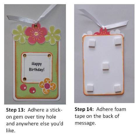 make a homemade birthday card