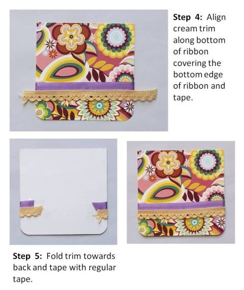 instructions on card making