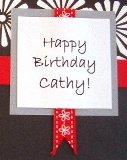 sentiment for simple birthday card