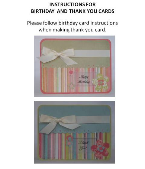 making your own birthday card instructions