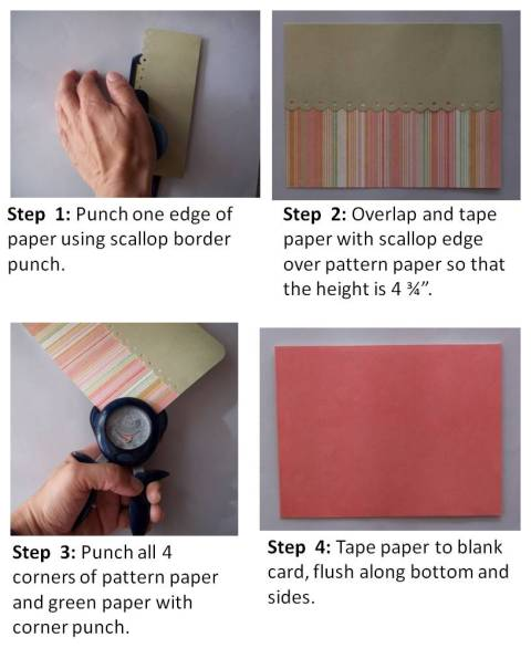 making your own birthday card step by step instructions
