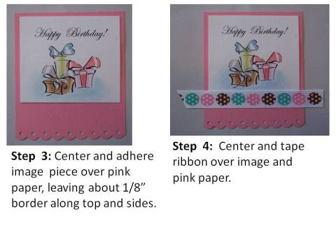 handmade birthday card idea directions