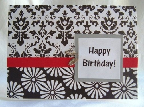 easy birthday card