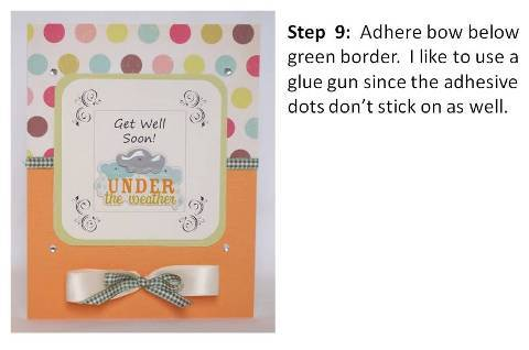 get well soon greeting card step by step instructions