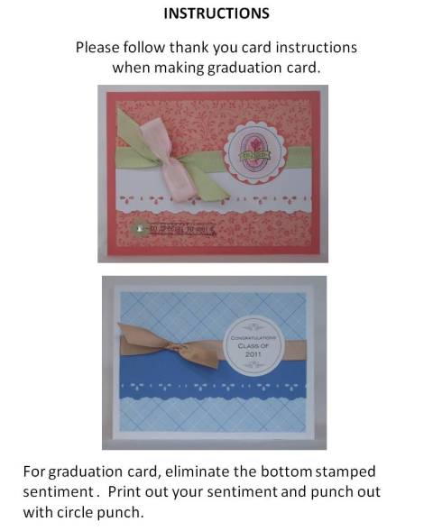 create your own graduation cards instructions