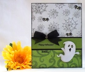 homemade halloween cards ghost