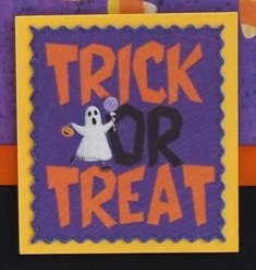 making your own halloween cards candy corn