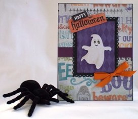 halloween craft card