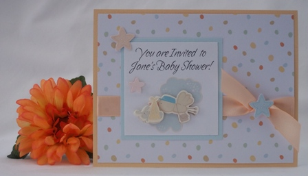 Homemade baby shower invitations with examples of handmade cards homemade baby shower invitations filmwisefo