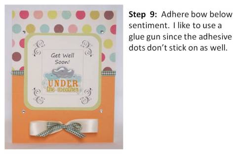 baby shower card idea step by step