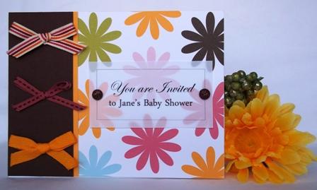 paper card making ideas invitation