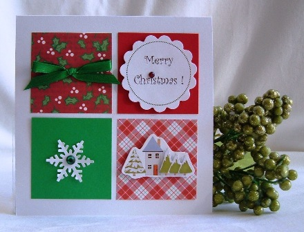 Handmade christmas card ideas find lots of festive easy styles handmade christmas card ideas m4hsunfo