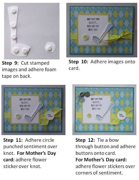 mothers day card making idea - directions