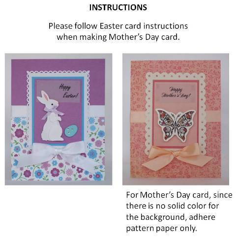 handmade mothers day cards instructions