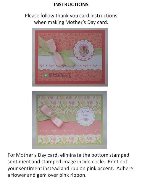 mothers day cards to make step by step instructions