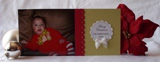 handmade greeting cards photo card idea
