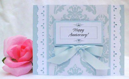 homemade anniversary cards