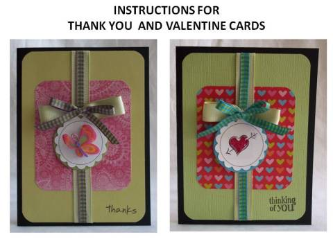 homemade thank you cards instructions